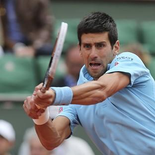 Novak Djokovic, pictured, s
