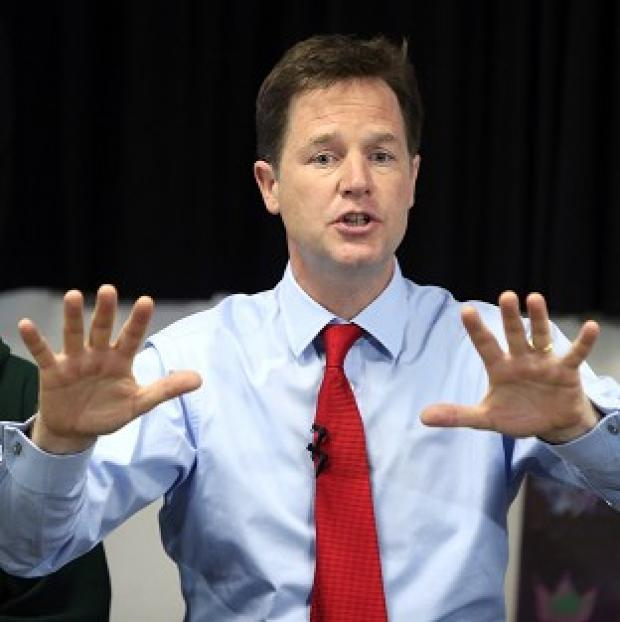Banbury Cake: Just 13% of people thought Nick Clegg was doing a good job, according to research