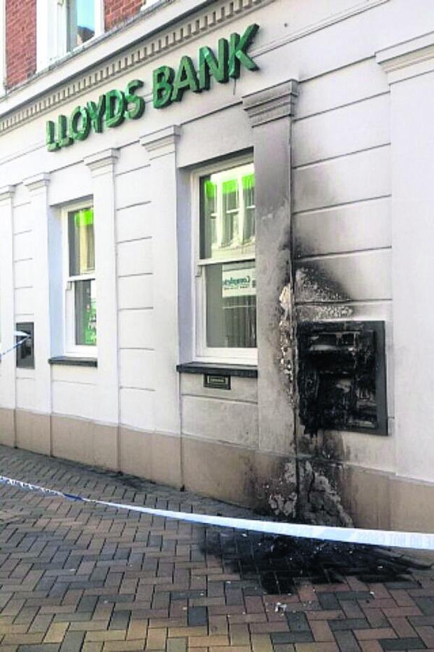 Banbury Cake: The Lloyds Bank branch targeted by the arsonist