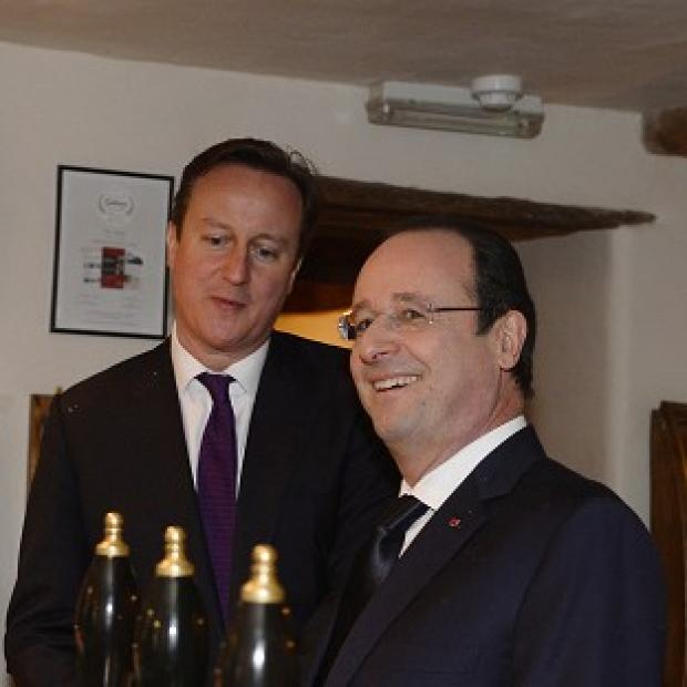 "Banbury Cake: Prime Minister David Cameron has spoken of the UK's ""unique"" relationship with France."
