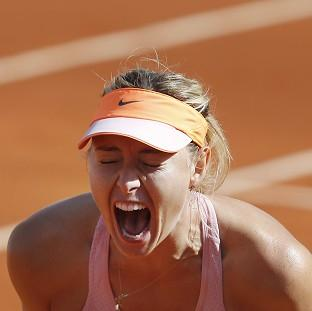 Maria Sharapova will aim for Grand Slam glory on Saturday (AP)