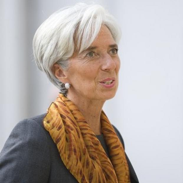 Banbury Cake: Christine Lagarde has said she is 'not a candidate' in the race to be president of the European Commission