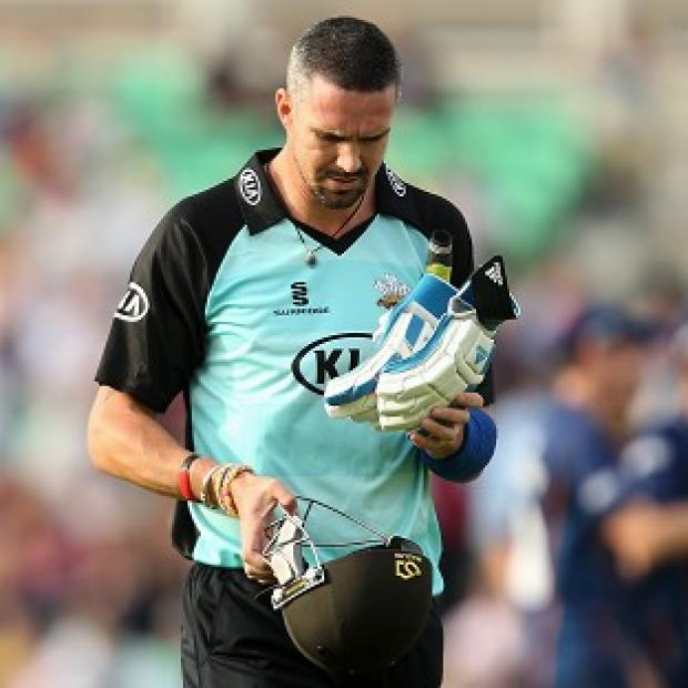 Banbury Cake: Kevin Pietersen was dismissed for five