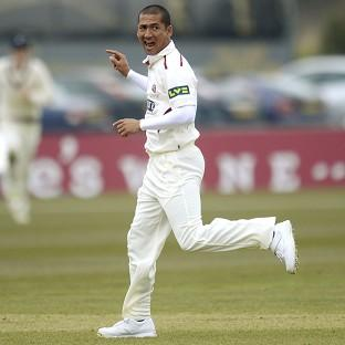 Alfonso Thomas claimed four wickets in four balls