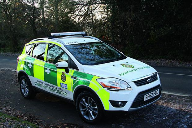 Banbury Cake: One of the Community First Responder cars