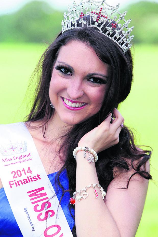 Banbury Cake: Miss Oxfordshire Amelia Watts is competing in the Miss England finals this weekend