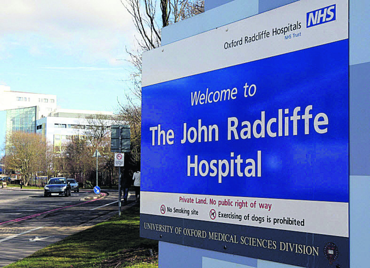 Oxford's John Radcliffe Hospital