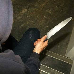 There are plans to bring in mandatory jail terms for people caught twice with a knife