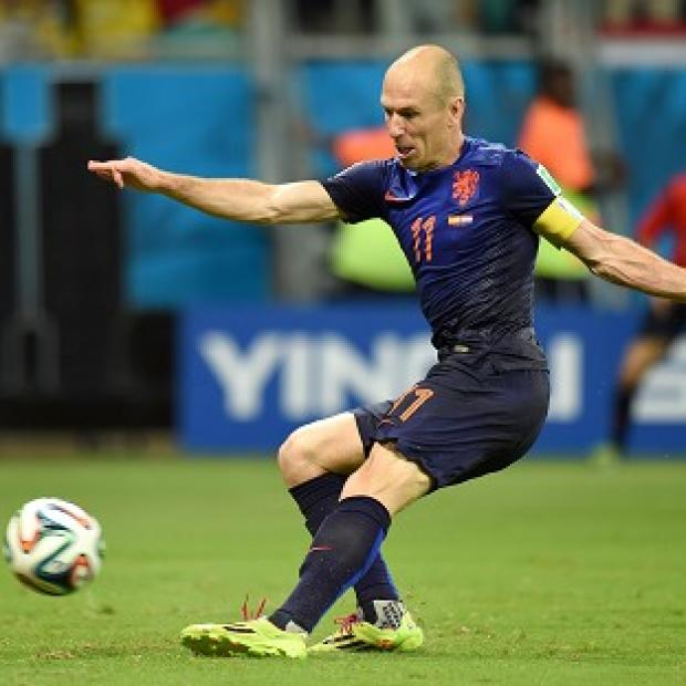 Banbury Cake: Arjen Robben has urged caution after Holland's superb World Cup win over Spain
