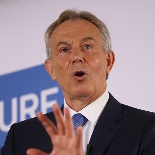 Tony Blair has intervened in the debate about the causes of the violence facing Iraq