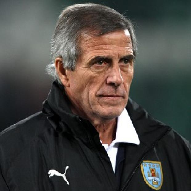 Banbury Cake: Oscar Tabarez's Uruguay slipped to a 3-1 defeat against Costa Rica
