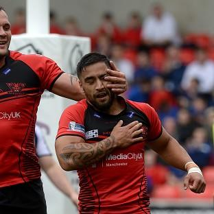 Rangi Chase ran the show for Salford