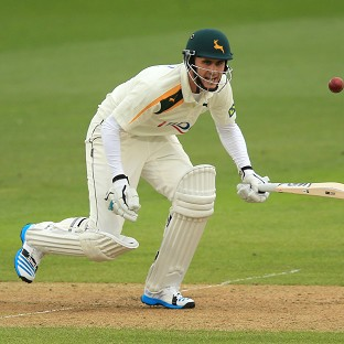 Alex Hales fell narrowly short of three figures