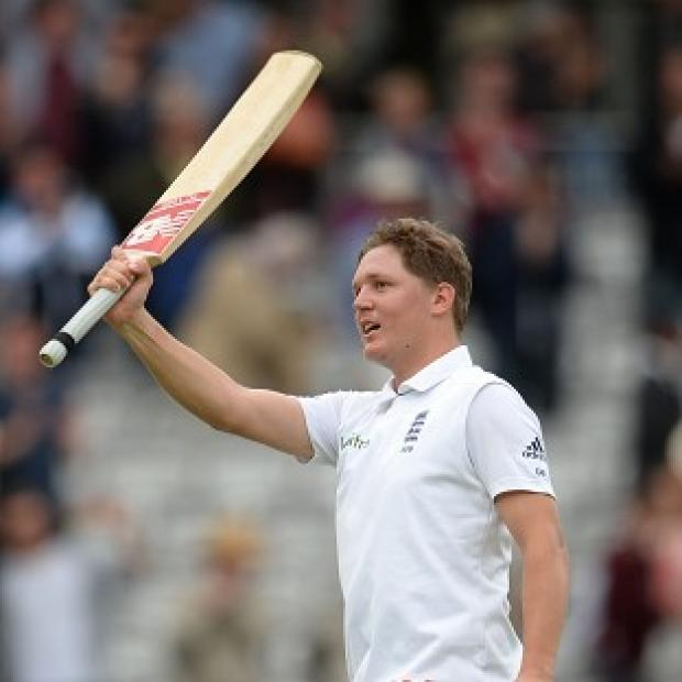 Banbury Cake: Gary Ballance helped England build a big lead