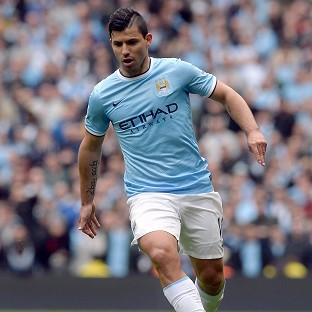 Sergio Aguero says he is happy at Manchester City