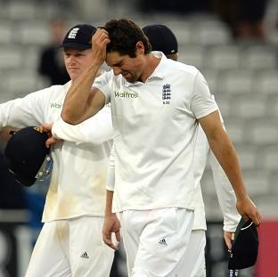 Alastair Cook could not believe England came so close without winning