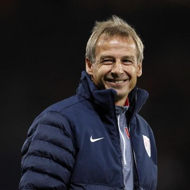 Banbury Cake: Jurgen Klinsmann was naturally delighted by his team's late winner