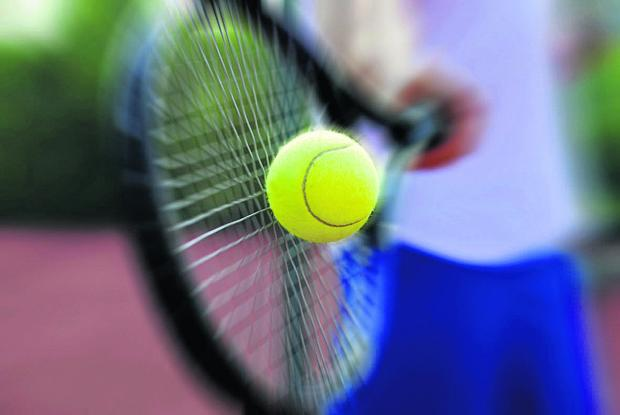 A tennis club is holding a tea party