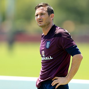 Frank Lampard is unhappy with the treatment of team-mate Wayne Rooney