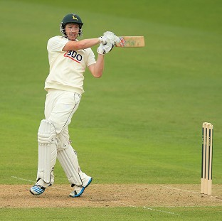 Riki Wessels helped Nottinghamshire to victory