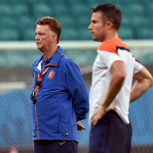 Louis van Gaal's first game in charge of Manche