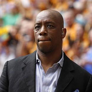 Ian Wright has returned to England to be with his family