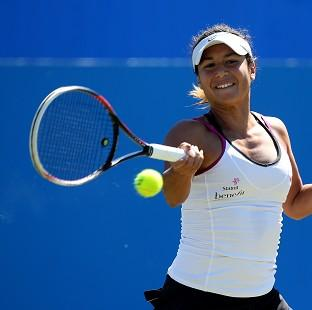 Heather Watson is into the last four at Eastbourne