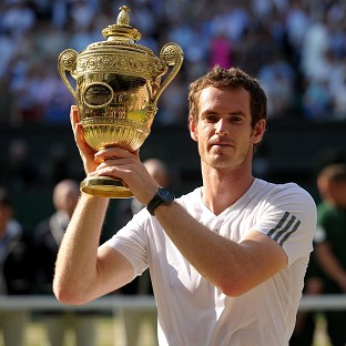 Andy Murray, pictured, will begin his Wimbledon title defence against David Goffin