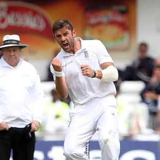 Liam Plunkett picked up a wicket on home soil