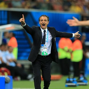 Cesare Prandelli is looking for his side to regroup ahead of the clash with Italy