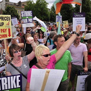Trade unions are balloting workers on strike action