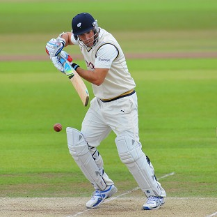Phil Jaques was at the crease when Nottinghamshire sealed victory