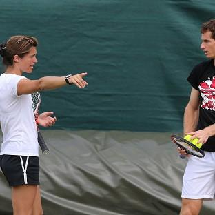 Amelie Mauresmo will encourage variety from Andy Murray