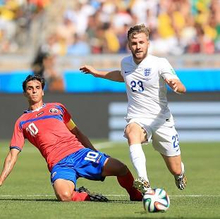 Banbury Cake: England international Luke Shaw, right, is close to completing a move to Manchester United