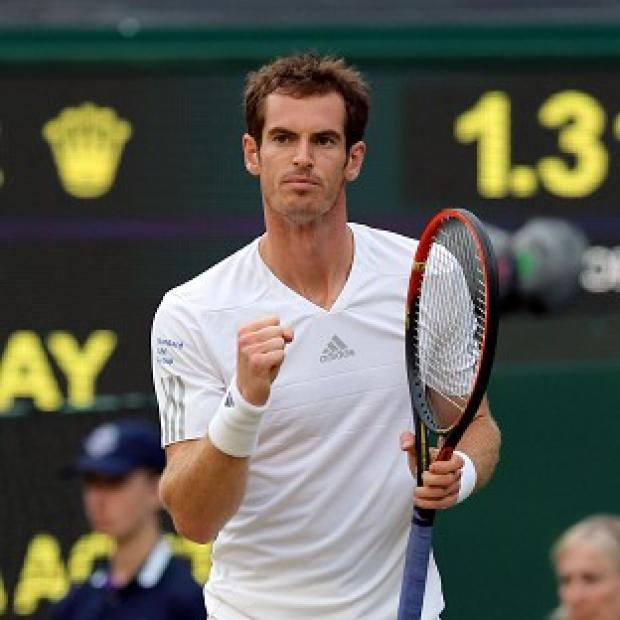 Banbury Cake: Great Britain's Andy Murray eased to a third round victory