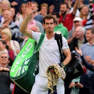 Andy Murray delighted the Centre Court cr