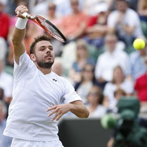 Banbury Cake: Stan Wawrinka, pictured, defeated Denis Istomin 6-3 6-3 6-4