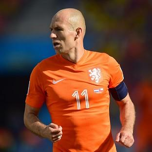 Holland winger Arjen Robben, pictured, was heavily criticised by Mexico coach Miguel Herrera after their sides' last-16 encounter
