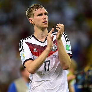 Per Mertesacker was unhappy at Germany's performance being criticised