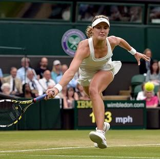 Canadian Eugenie Bouchard bids to reach her first Wimbledon semi-final
