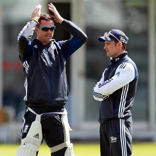 Andrew Strauss, right, has apologised a