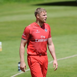 Andrew Flintoff will play for Lancashire against Worcestershire