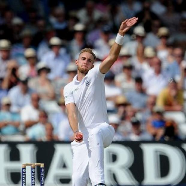 Banbury Cake: Stuart Broad, pictured, is sure England captain Alastair Cook will come good soon
