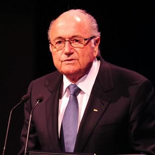 Sepp Blatter, pictured, is mindful of the 'hurt' Uruguay's Luis Suarez is feeling