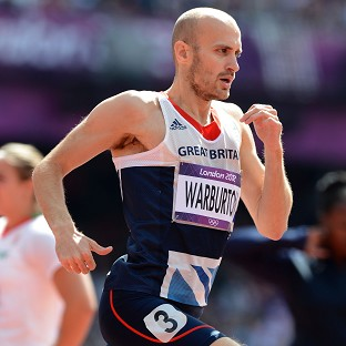Gareth Warburton will not be running at the Commonwealth Games