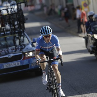 Andrew Talansky has been forced to withdraw from the Tour de France (AP)