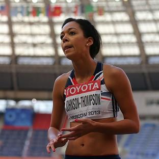 Katarina Johnson-Thompson was hot favourite to win gold in the women's heptathlon
