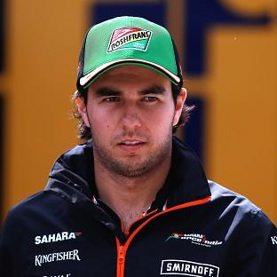 Sergio Perez is excited by a home grand prix