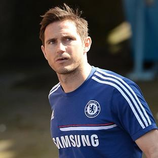 Frank Lampard was fined for his actions b