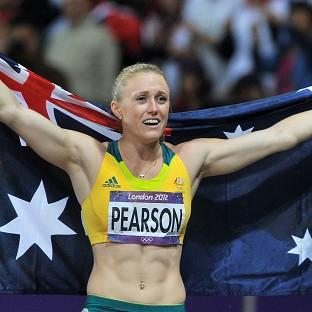Sally Pearson came under criticism from Eric Hollingsworth